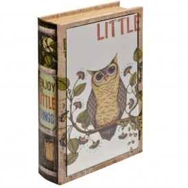 Mirrored Enjoy The Little Things Storage Book Box