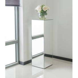 Mirrored Pedestal Large