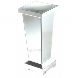 Mirrored Pedestal
