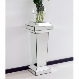 Mirrored Pedestal Stand