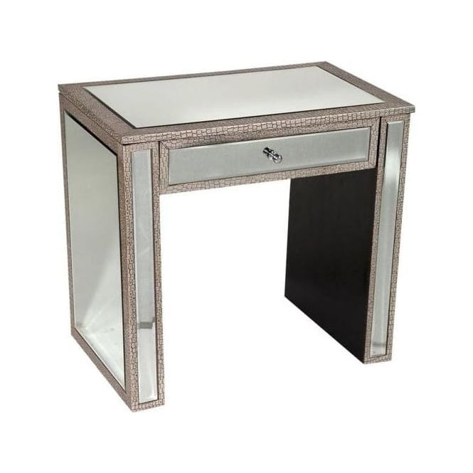 Moc Croc Mirrored Console Table
