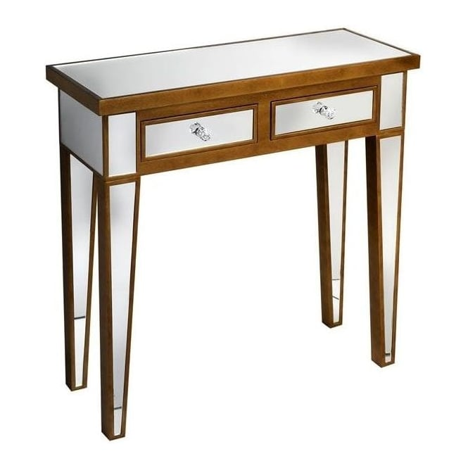 Modena Mirrored Console Table