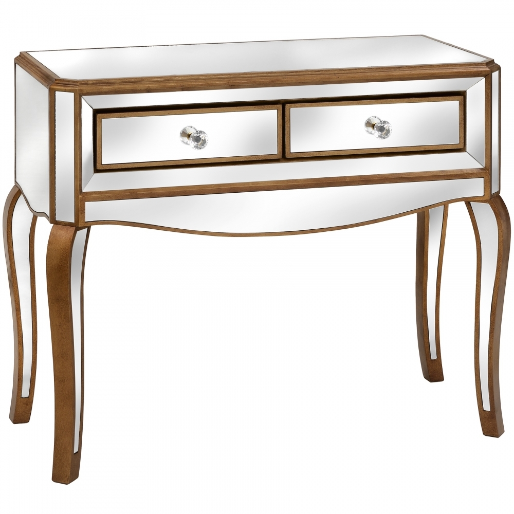 Modena Mirrored Console Table French Furniture From