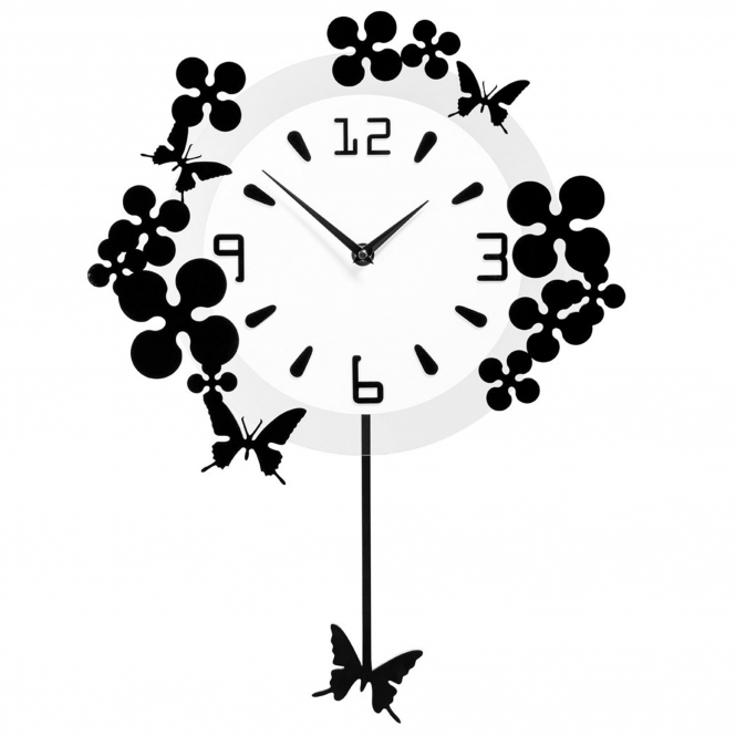 Modern Nature Wall Clock