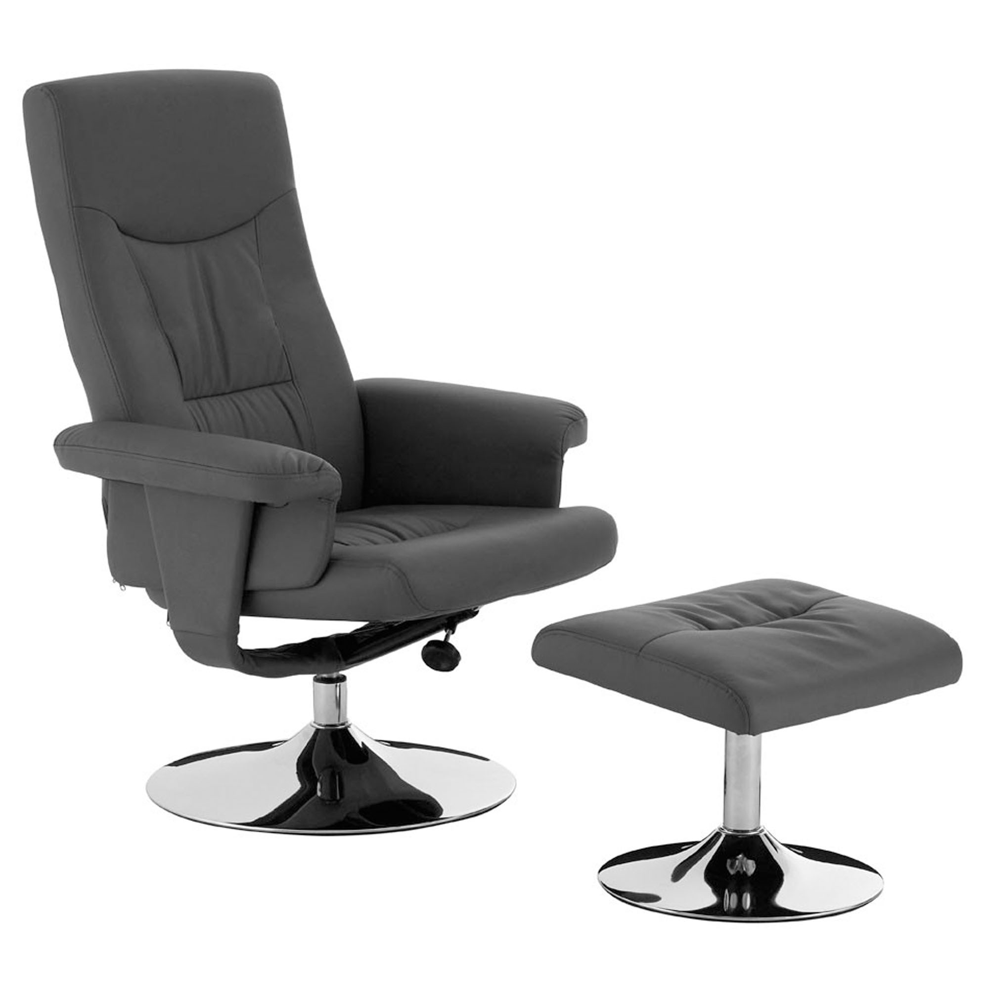 Amazing Modern Recliner Chair With Footstool Dailytribune Chair Design For Home Dailytribuneorg