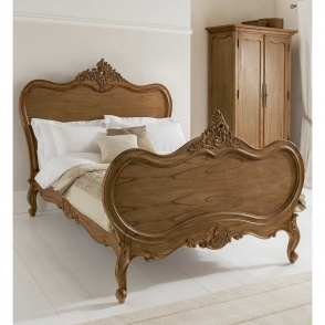 Montpellier Antique French Bed (Size: Double)