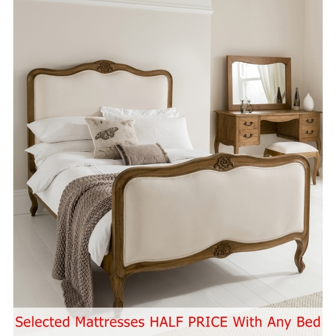 Montpellier Bed 3 (Size: Double) + Mattress - Bundle Deal