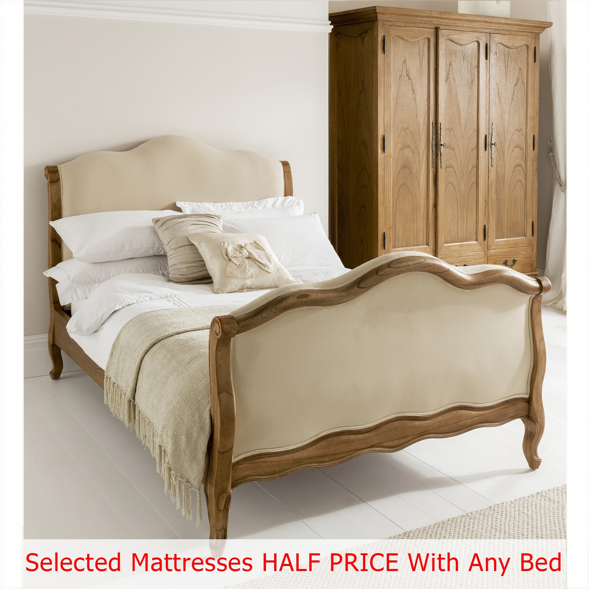 Montpellier bed size king mattress bundle deal Bed and mattress deals
