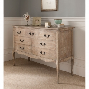 Montpellier Blanc 7 Drawer Chest