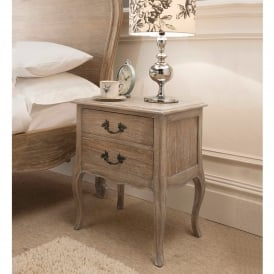 Montpellier Blanc Bedside Table