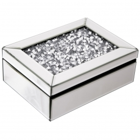 Monza Mirrored Jewellery Box