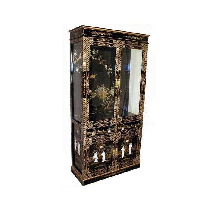 Unique Mother Of Pearl Cabinet: Mother Of Pearl Cabinet With Lighting