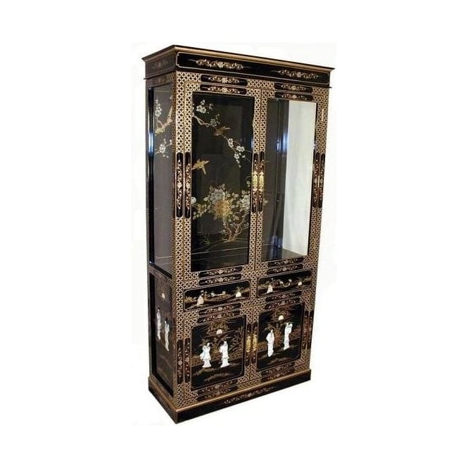 Mother of Pearl Cabinet with Lighting