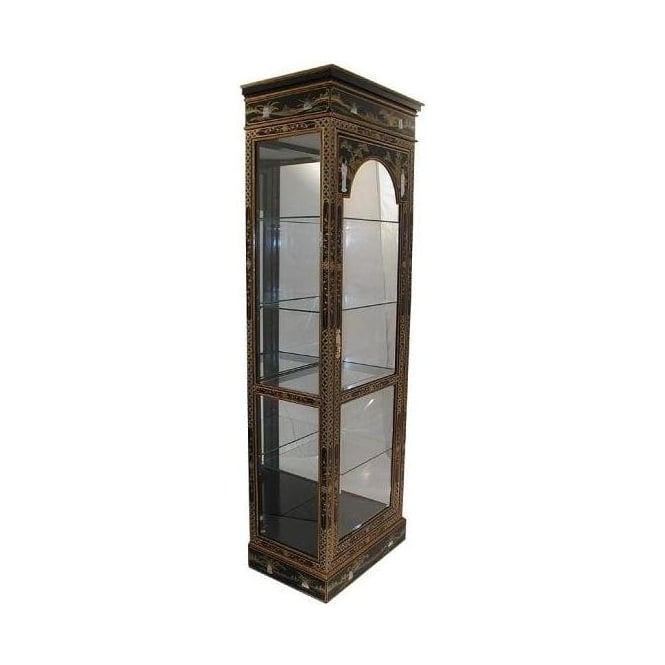 Mother of Pearl Display Cabinet with Mirror