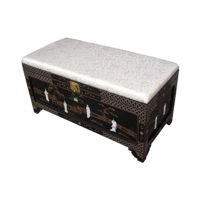 Mother Of Pearl Ottoman