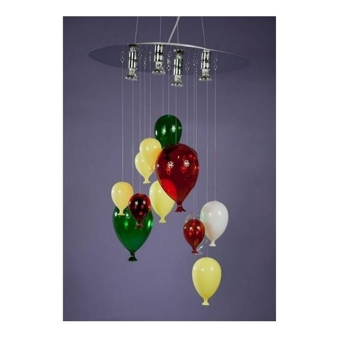 Multicolour Balloon Chandelier