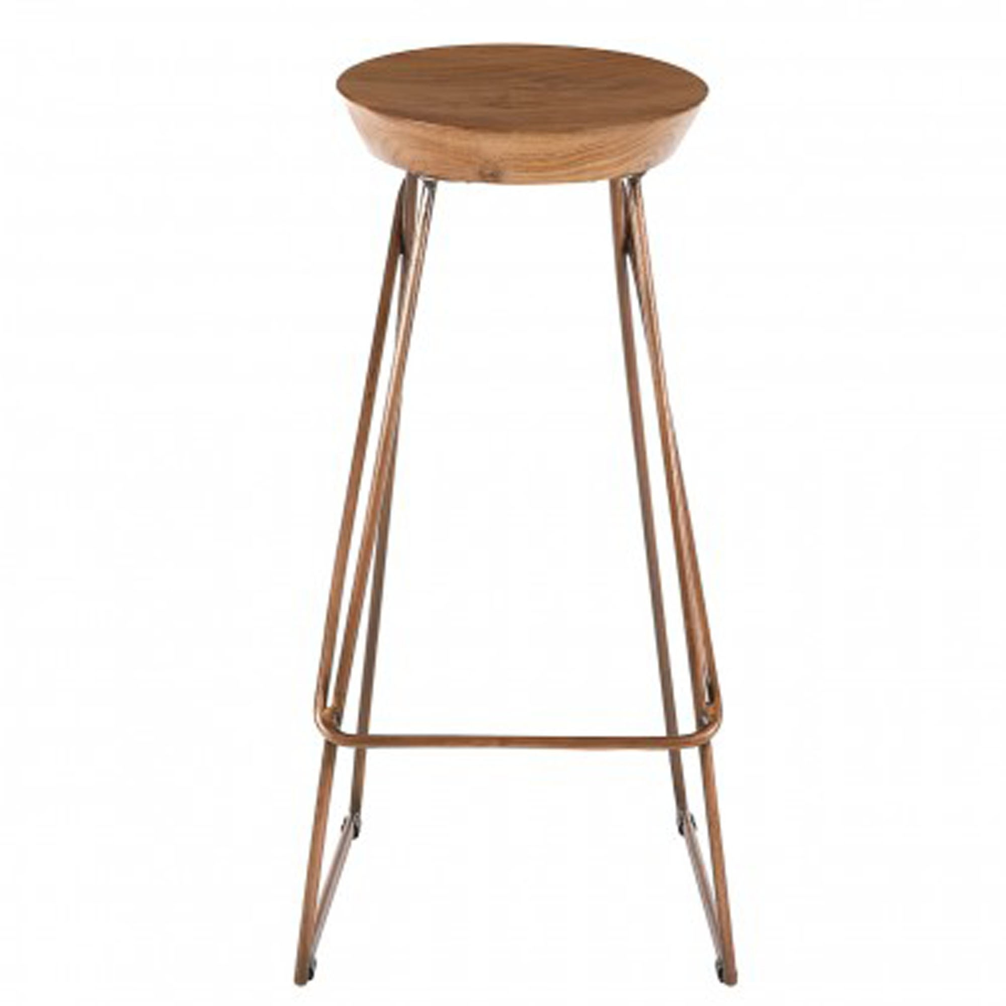 Strange Nandri Mango Wood Bar Stool Squirreltailoven Fun Painted Chair Ideas Images Squirreltailovenorg