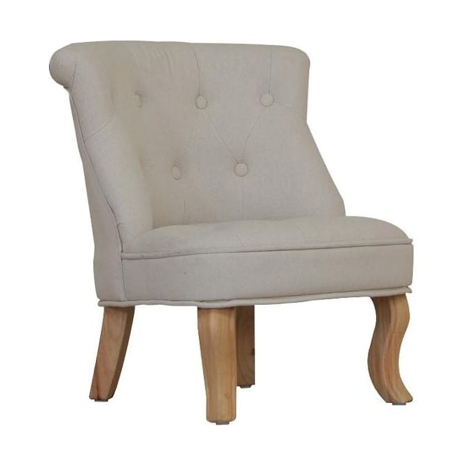 Natural Cabrio Antique French Style Mini Chair