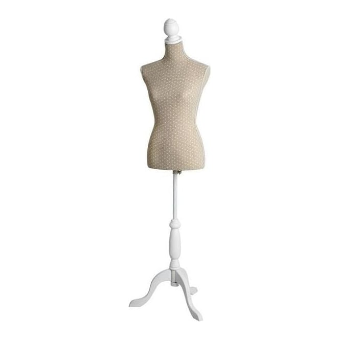 Natural Linen Dress Mannequin