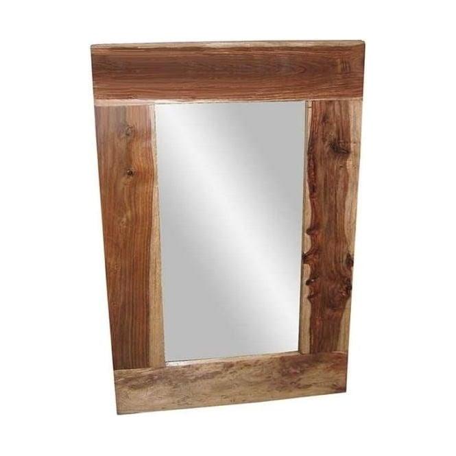Natural shesham mirror 90 x 60cm for Mirror 90 x 60
