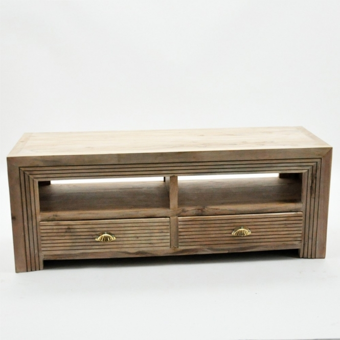 Natural Wooden TV Cabinet