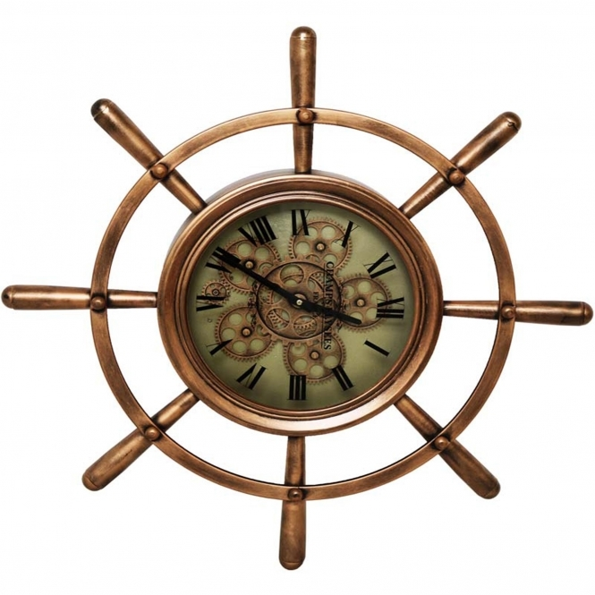 Nautical Wall Clock Wall Clock Home Accessories