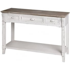 New England Shabby Chic Console Table