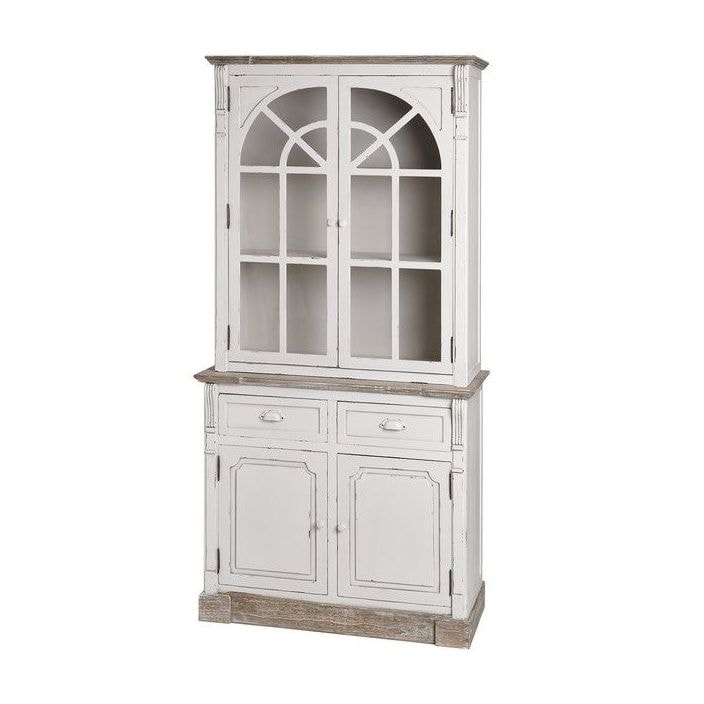 new england shabby chic display cabinet is a wonderful addition to our