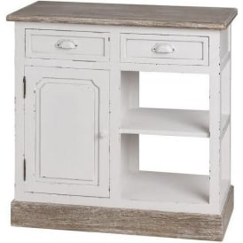 New England Shabby Chic Kitchen Unit