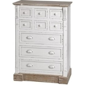 New England Shabby Chic Storage Chest