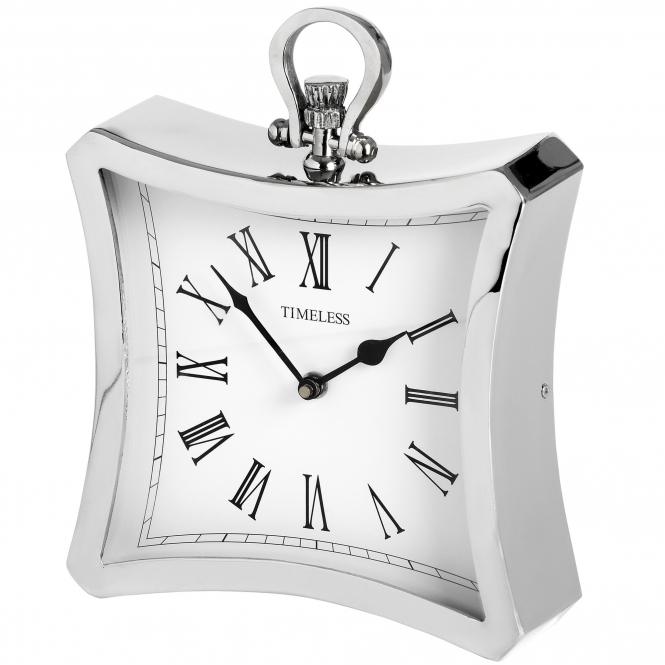 Nickel Table Clock