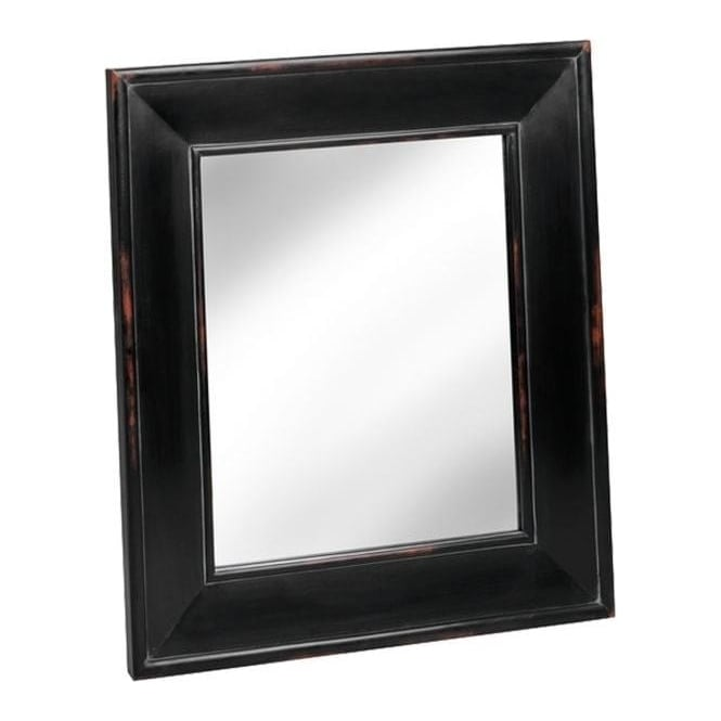 Noir Antique French Style Mirror