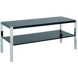 Novello Black TV Stand