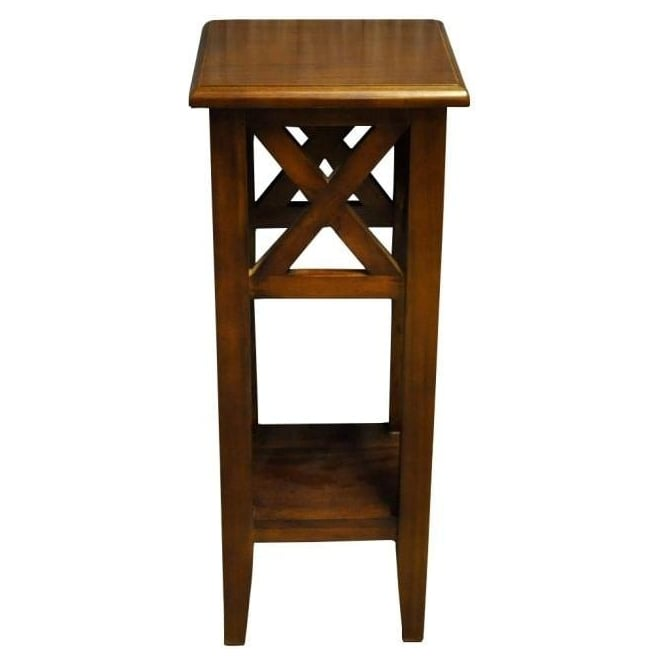 Nutmeg Solid Mahogany Planter Stand