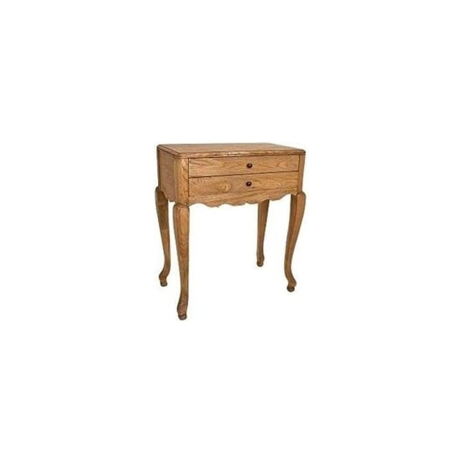 Oak Antique French Style Bedside