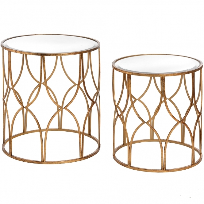 Opulence Set of 2 Side Tables
