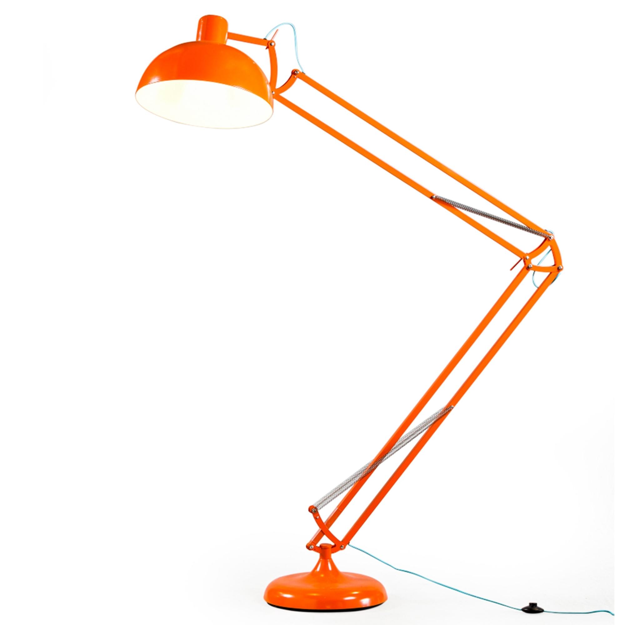 Orange Xxl Classic Desk Style Floor Lamp Modern Floor Lamps Online