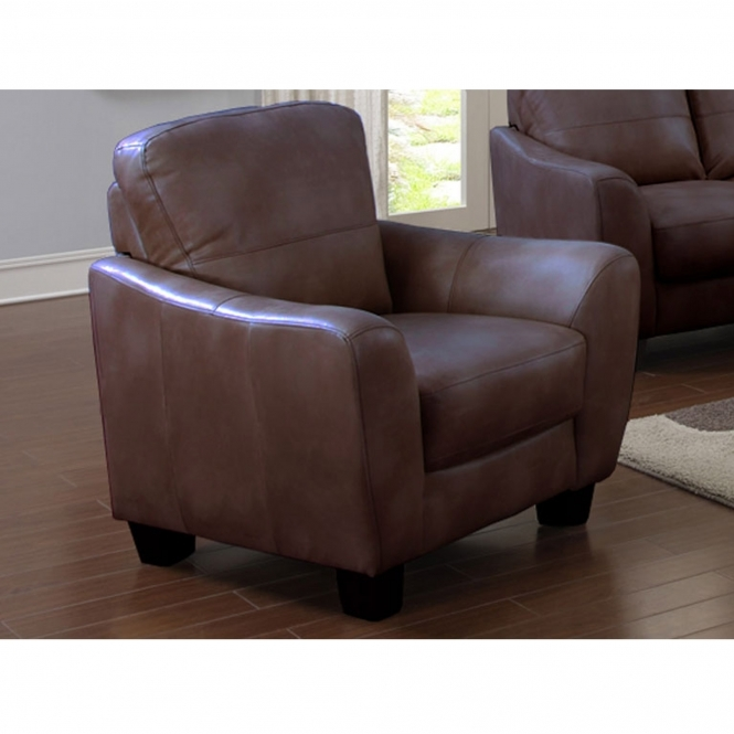 Oregon Brown Armchair