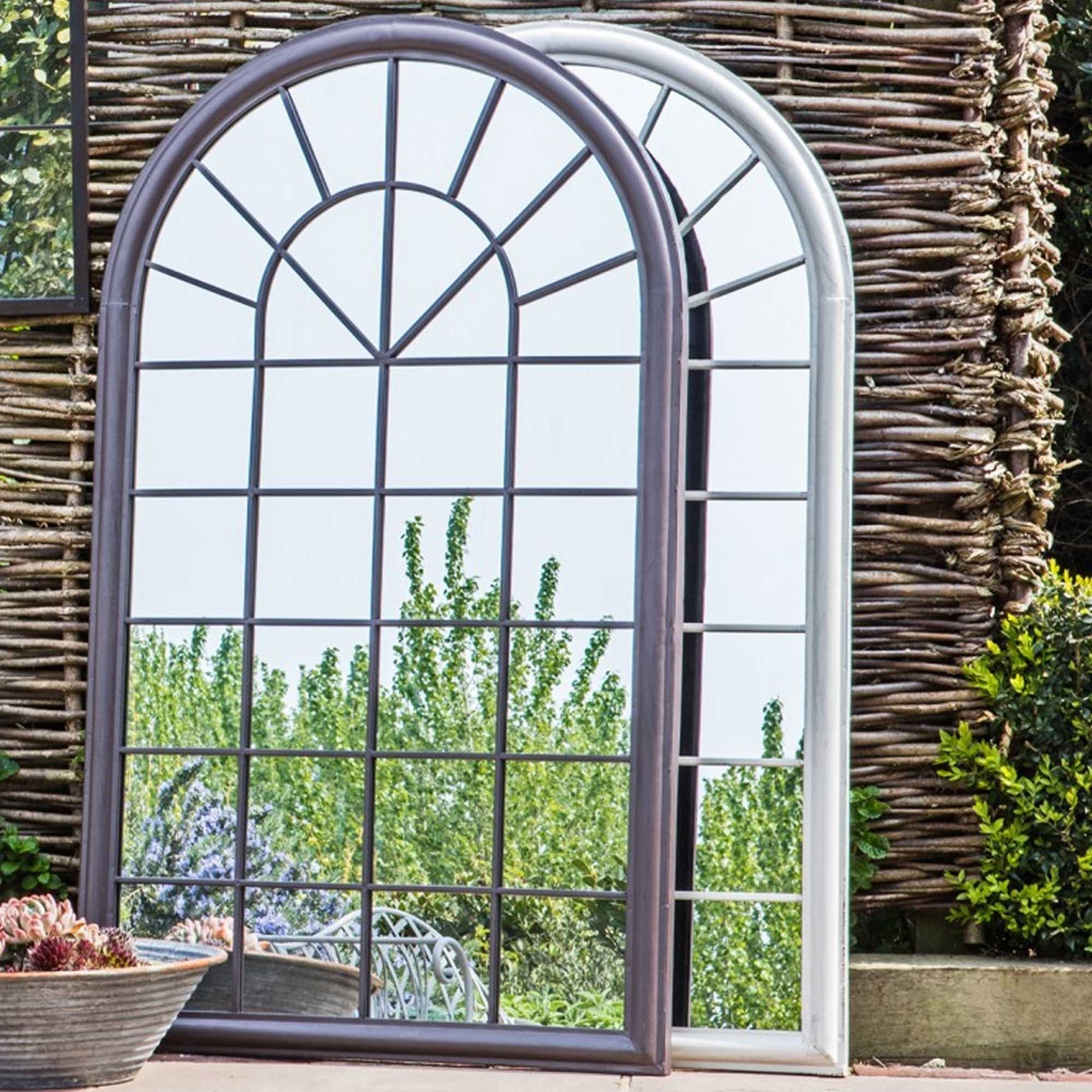 Orlanda Outdoor Mirror Ember