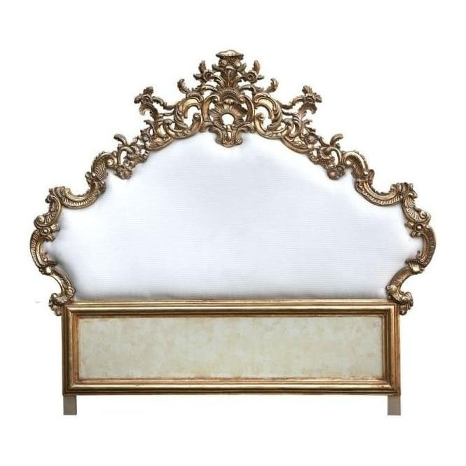 Ornate Antique French Style Headboard