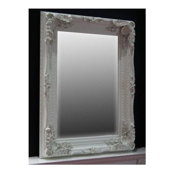 Ornate Framed Antique French Style Wall Mirror