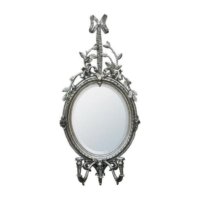 Oval Antique French Style Mirror