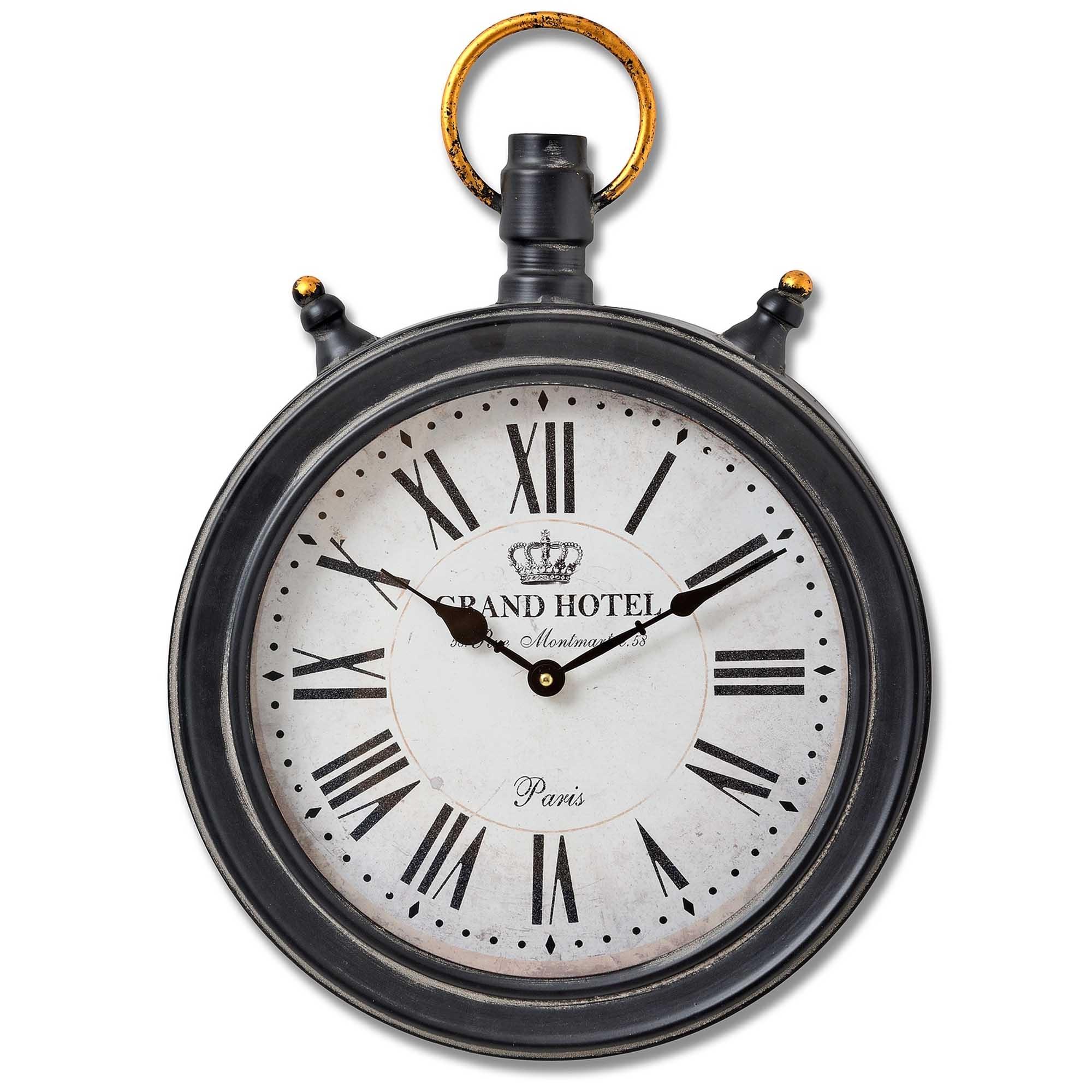 Oval Hanging Pocket Watch Wall Clock Wall Clock