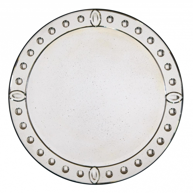 Oval Venetian Wall Mirror