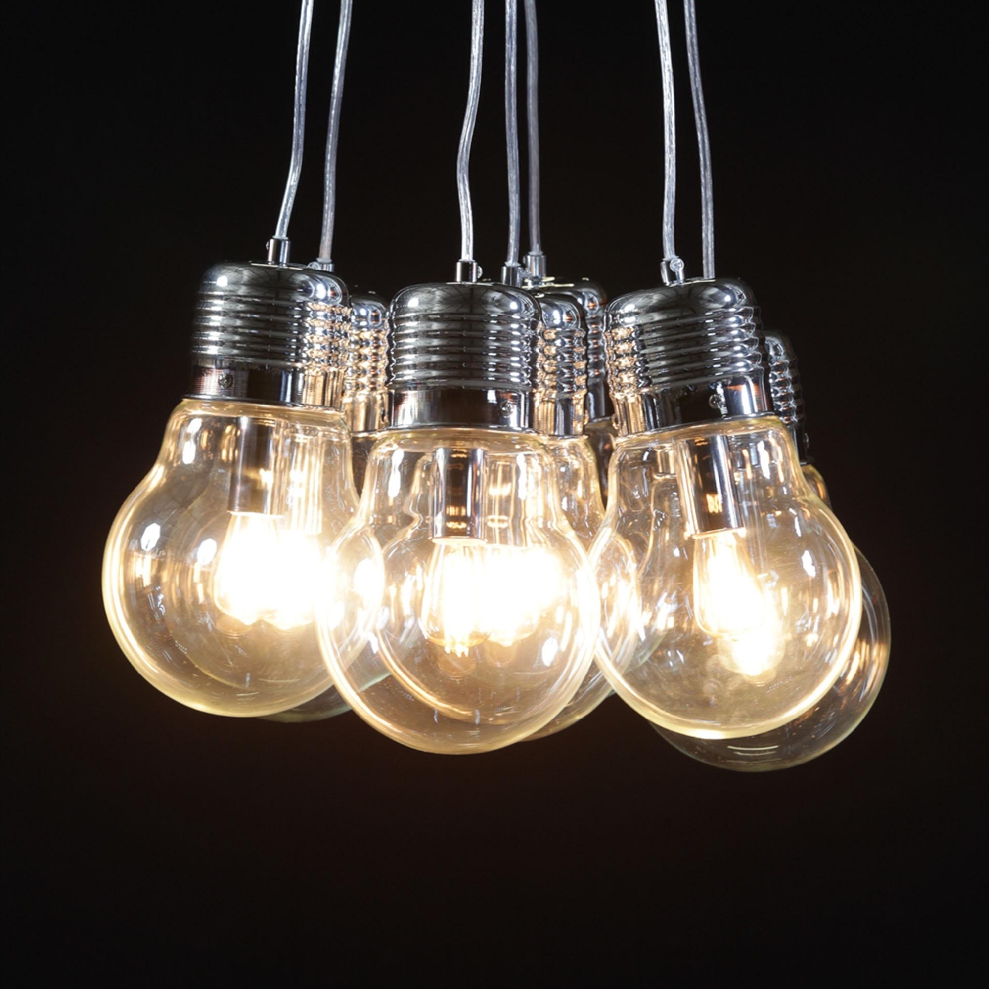 product by venetian arm deco glass venti chandelier in light bulb murano visone en lampadario veneziano vetro anni six circa venini color