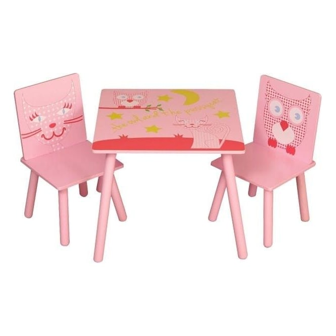 Owl and Pussycat Table and Chairs