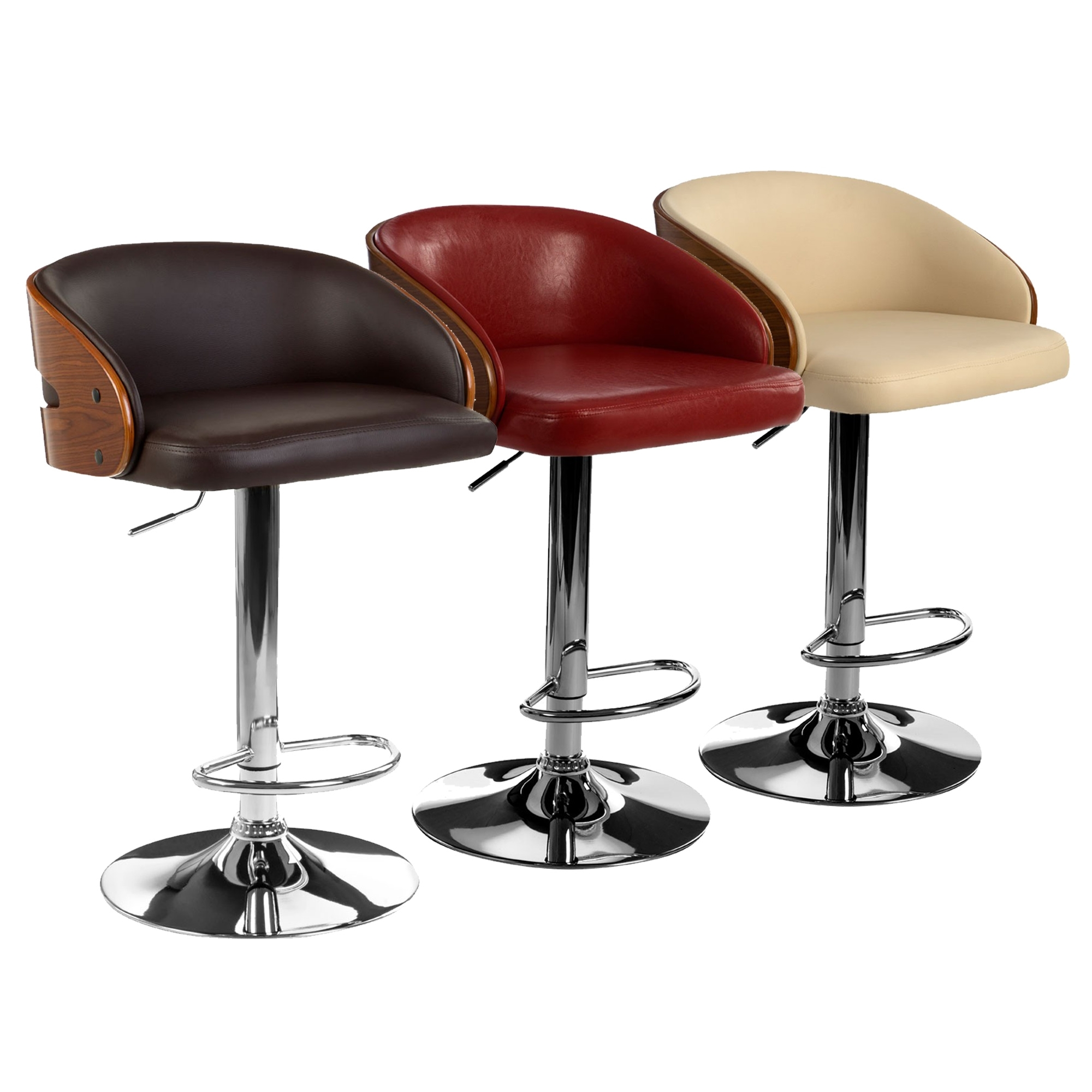 new concept 758a0 a4870 Padded Bar Chair