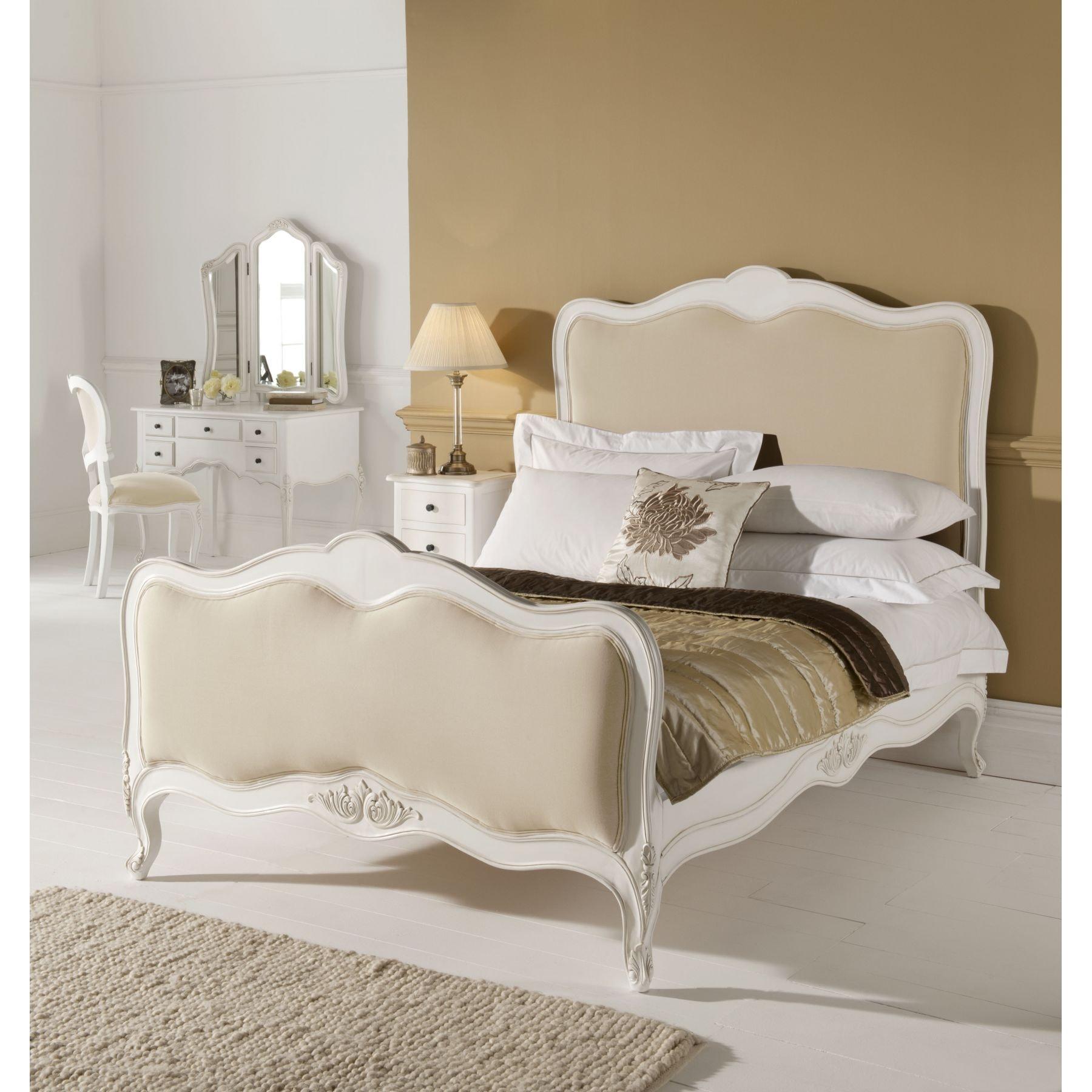 Paris French Bed & Mattress Bundle