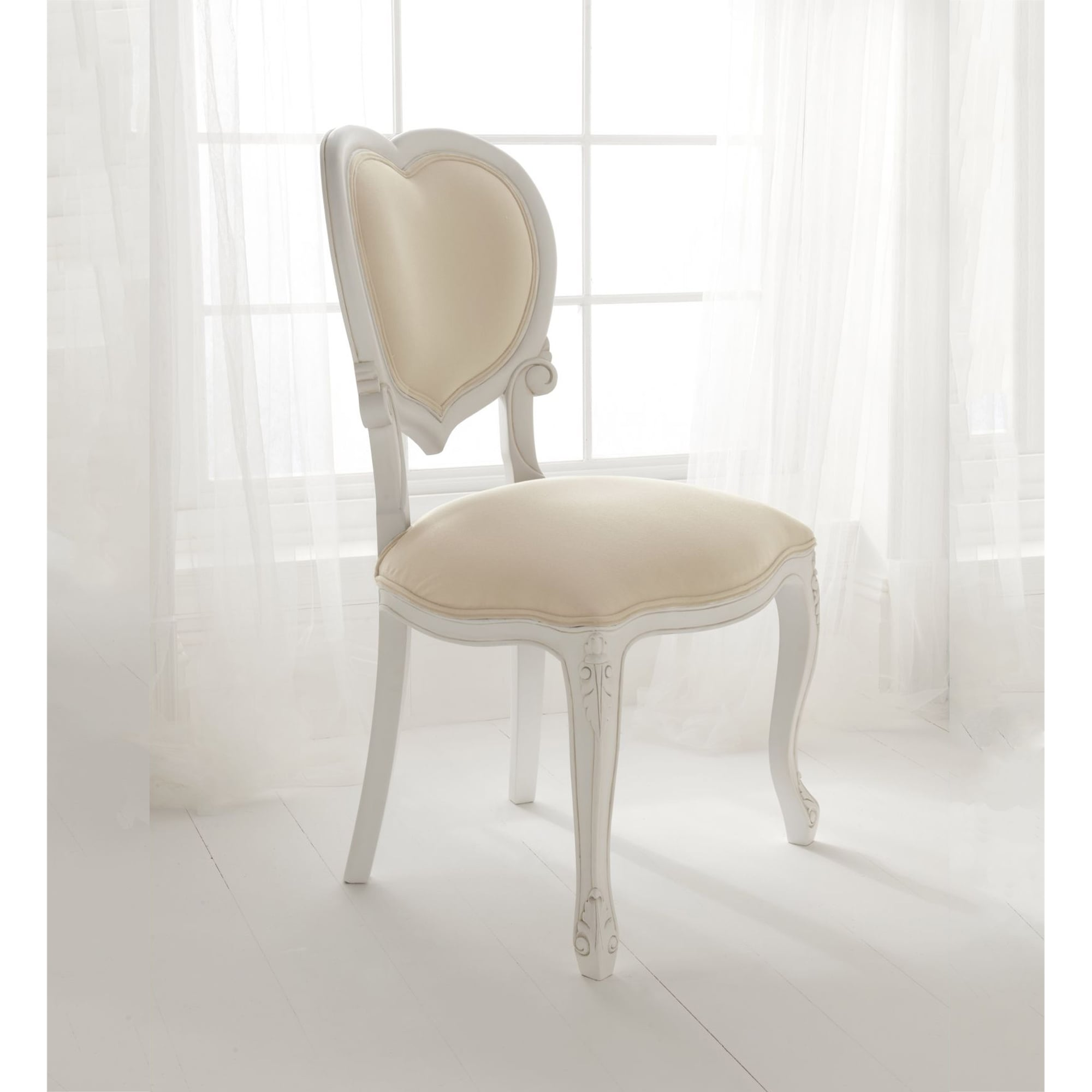 Paris Antique French Chair Works Well Alongside Our Shabby