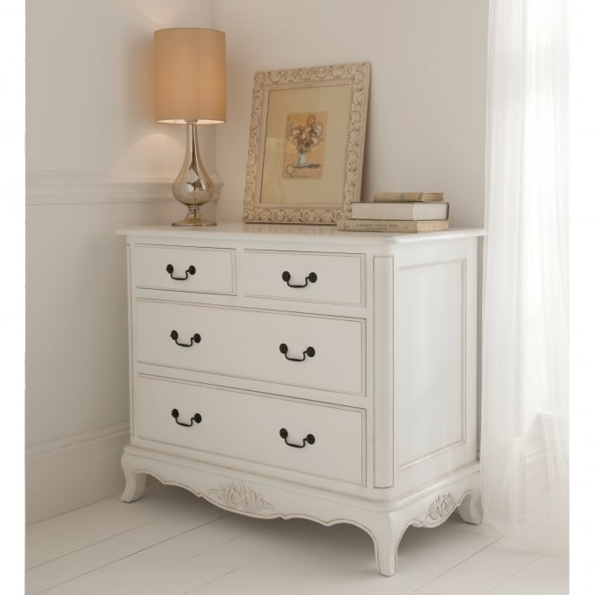 Paris Antique French Style Chest Of Drawers